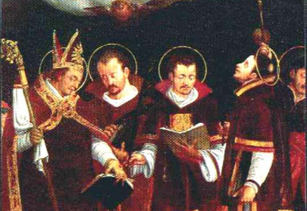 San Sisinnio Alessandro e Martirio