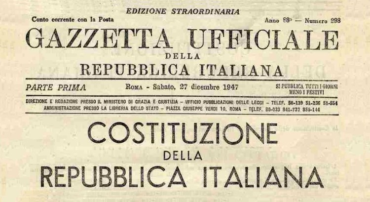 costituzione italiana gazzetta