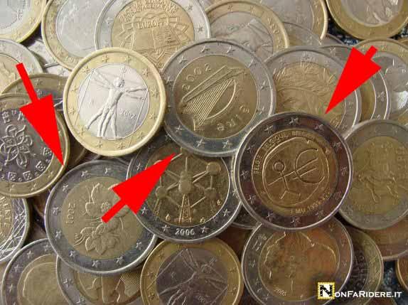 """Risultato immagini per Le sette monete da 2 euro"""""""