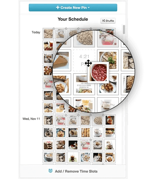 Schedule Pinterest pins automatically and loop them with tailwind