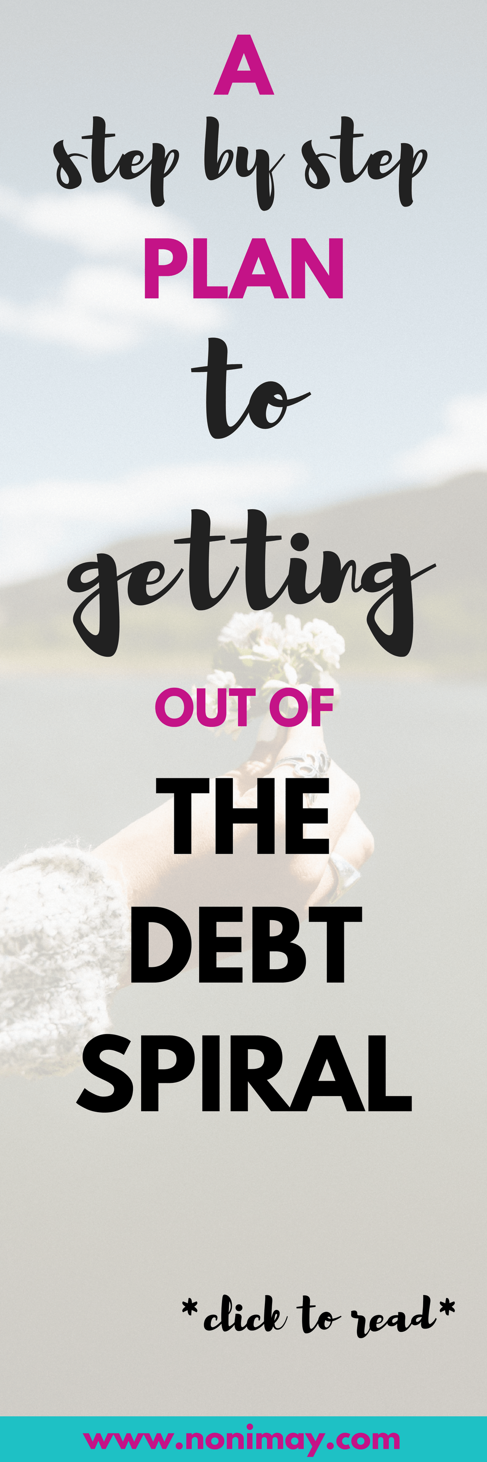 A step by step plan to getting out of the debt spiral