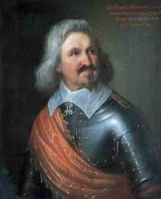 Colonel Francis Hammond, born 1584. He commanded the forlorn hope at Edgehill. Fought 14 single combats in the German Wars.