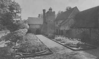 The NE side and gardens, 1930's
