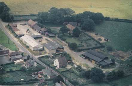 The Holt Street cross-roads area and Holt Street farm, 1975