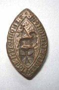 Knights Hospitaller 14th century bronze seal
