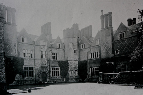 St Alban's Court-new mansion-courtyard 1930's 1