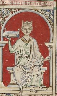 William II, called Rufus because of his ruddy countenance, King of England 1087-1100.