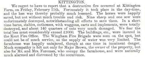 1898 March Kittington fire 1a