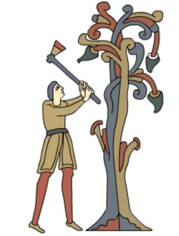 medieval coppicing