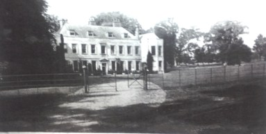 A photo of the old St. Alban's Court house taken in the 1870's.