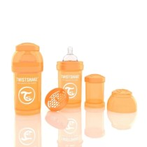 Biberon Twistshake Anti - Colici 180 ml Portocaliu
