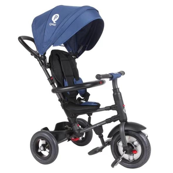 Tricicleta-cu-roti-gonflabile-de-cauciuc-Qplay-Rito-AIR-Albastru-Inchis-8