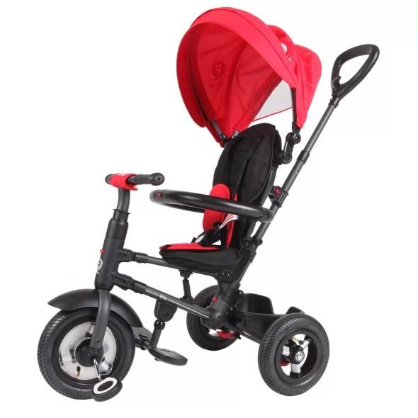 Tricicleta-cu-roti-gonflabile-de-cauciuc-Qplay-Rito-AIR-Rosu-8