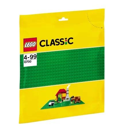 LEGO® Classic Placa de baza verde – 10700