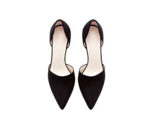 Image 2 of POINTED VAMP SHOE from Zara