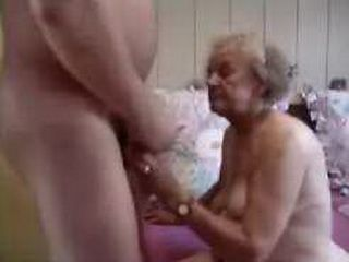 grey haired granny pussy
