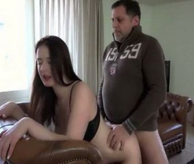 Pervert Father Fucks Busty Daughter Best Friend On The Leather Couch Nonktube Com