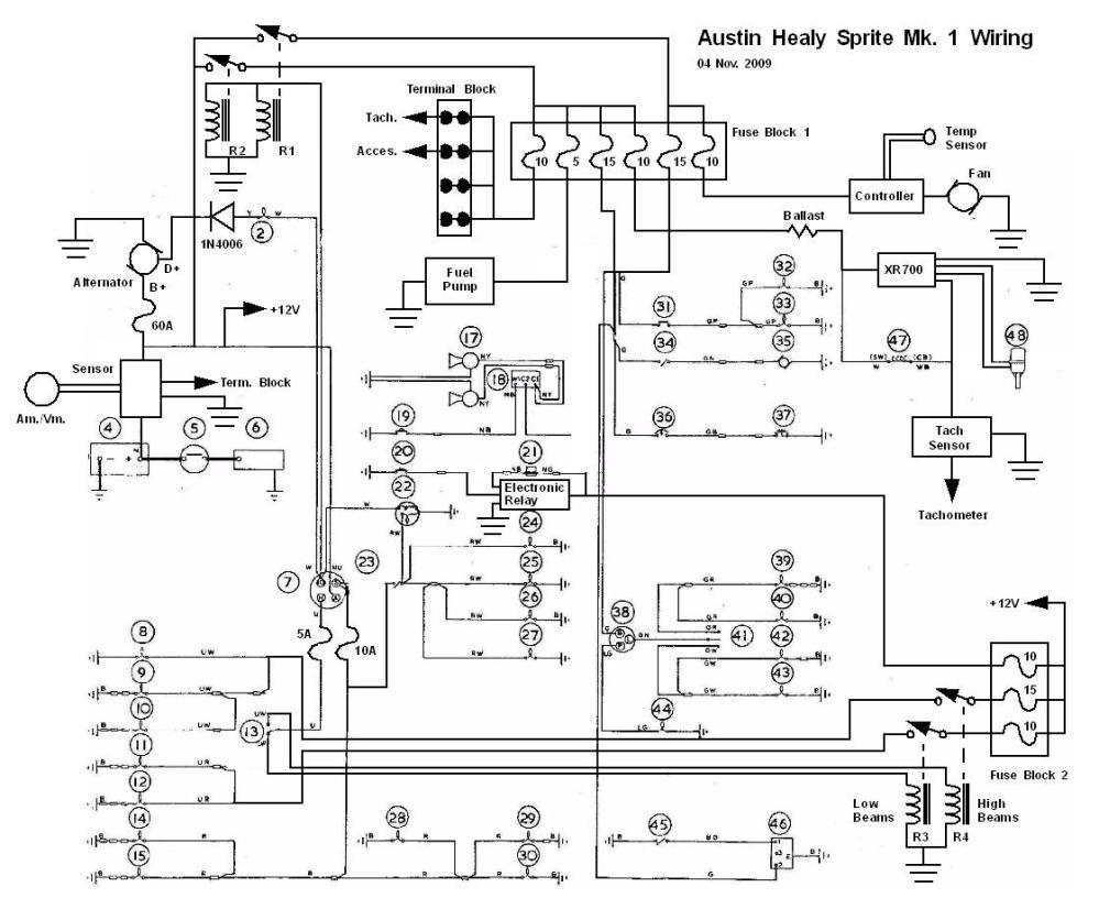 medium resolution of sprite wiring diagram wiring diagram yer bugeye sprite wiring diagram