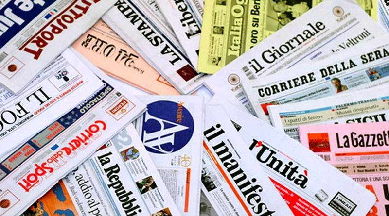 Articoli sui giornali