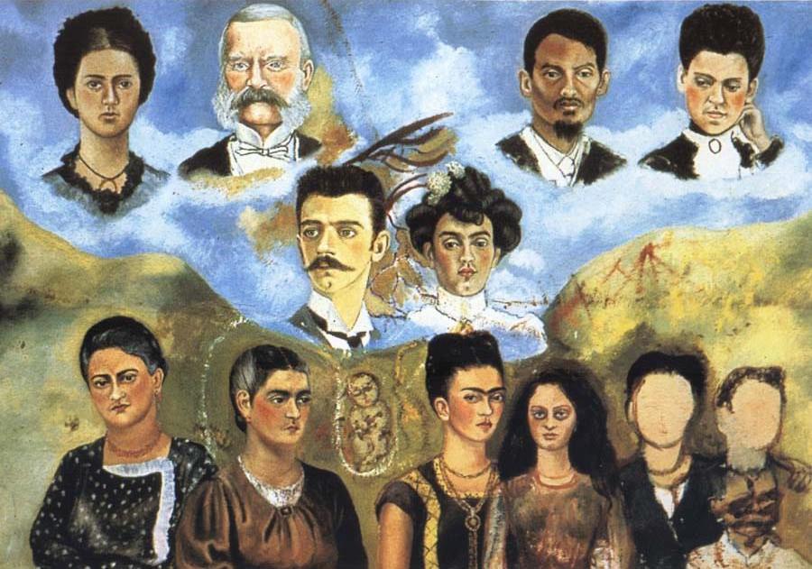Autore - Frida Kahlo - Titolo Family free
