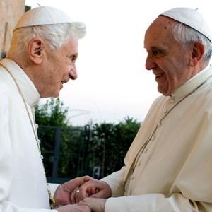 Papa Benedetto e Papa Francesco