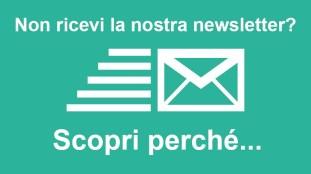 Non ricevi la nostra newsletter