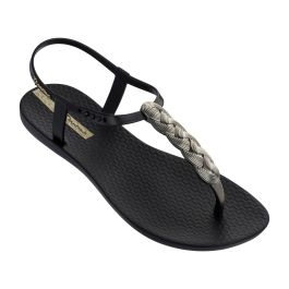 Ipanema   Charm Sandal 21 Black Braid