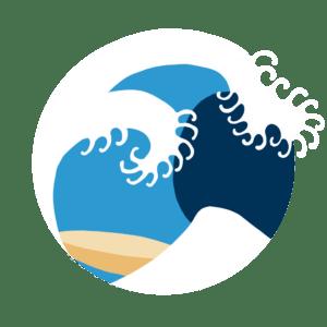 dessin de vague
