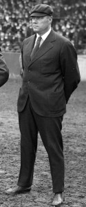 Dinneen umpiring at the 1916 World Series.