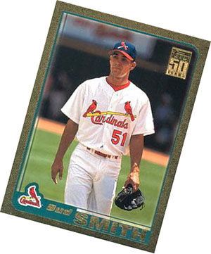 Bud Smith 2001 Topps Traded card