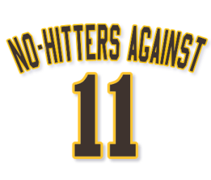 No-hitters against 11