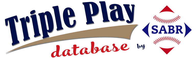 SABR Triple Play Database