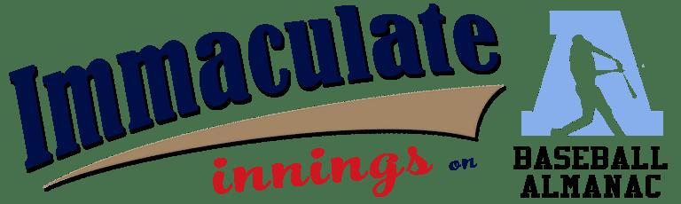 Immaculate Innings on Baseball Almanac
