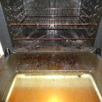 Dirty Oven not cleaned by renter