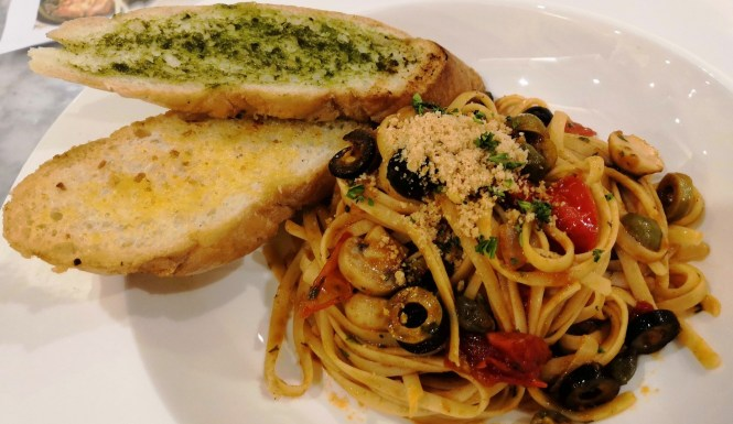 Italian Pasta Station at Cafe del Prado