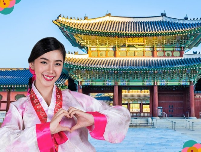 Gyeongbokgung Palace and Nami Island Photo Booth.