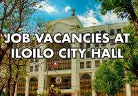 Job vacancies at Iloilo City Hall