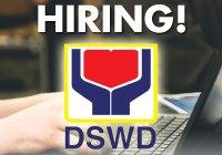 DSWD hiring