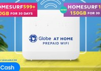 Globe At Home Promo via Gcash