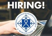 NEDA hiring