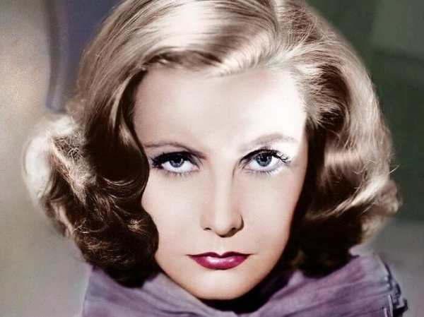 Even though Greta Garbo officially retired from acting in