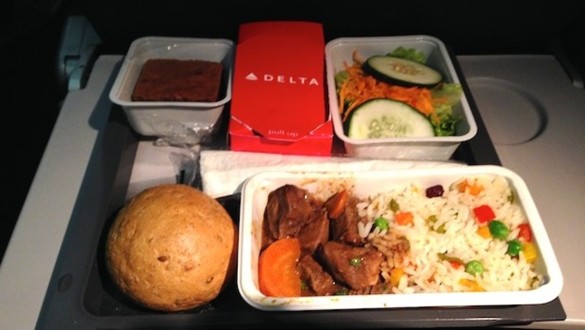 Meals on Delta Air Lines