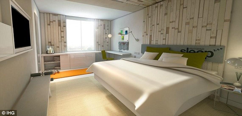 healthy hotel room