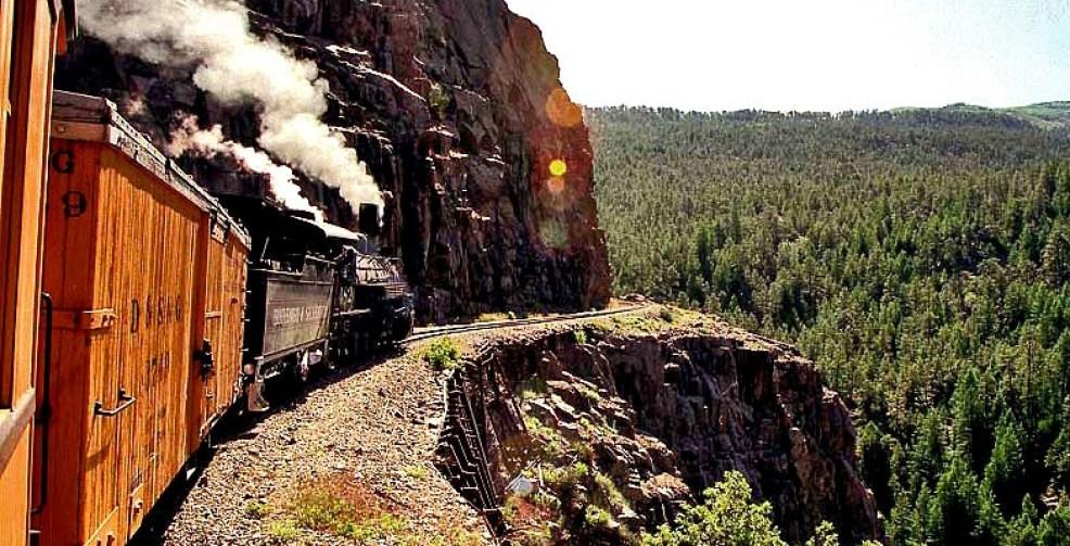 USA train trip