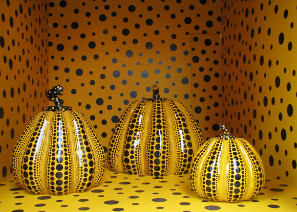Yayoi Kusama - Pumpkins, Gagosian Gallery, 2009