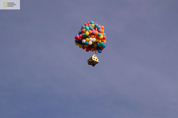 National Geographic Channel How Hard Can it Be  The House of Disney Pixar movie Up Flies