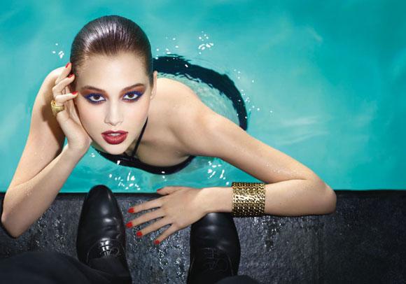 ButterflEye  Yves Saint Laurent Swimming Pool Summer Look 2012  Trucco Farfalla  Collezione