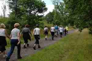 Camminare fa bene alla circolazione
