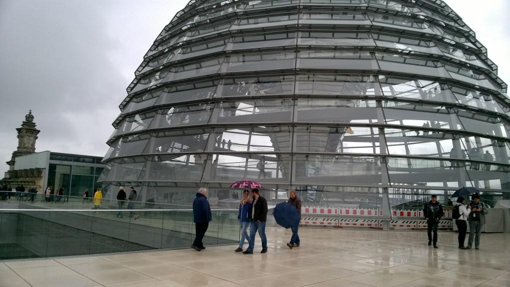 La cupola del Reichstag a Berlino