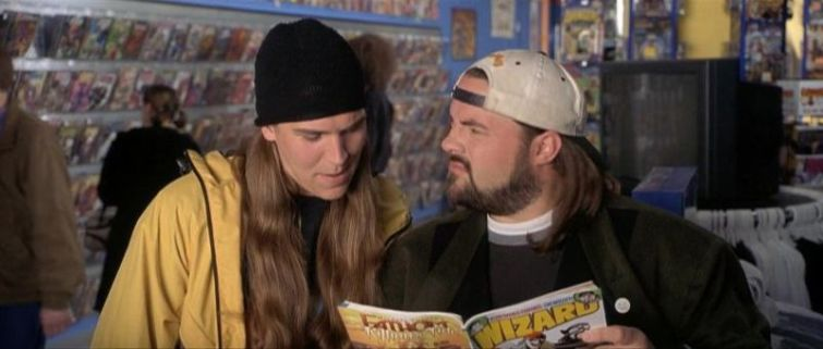 Kevin Smith, Jason Mewes, fumetto